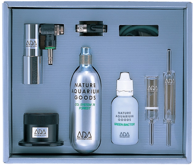 Image of ADA CO2 Advanced System Black - Buy Carbon Dioxide Injection Kits