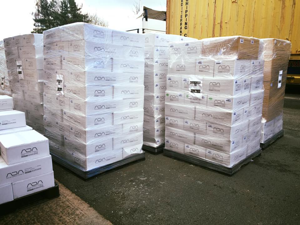 Just part of our latest ADA order which we took delivery of today!